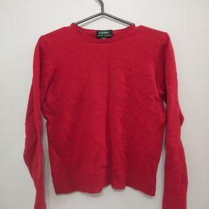 3/10$ Lauren ralph Lauren red sweater